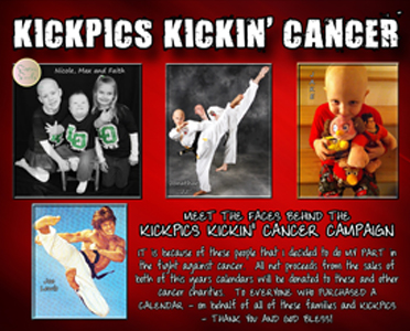 KICKPICS KICKIN CANCER